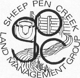 Sheep pen creek logo