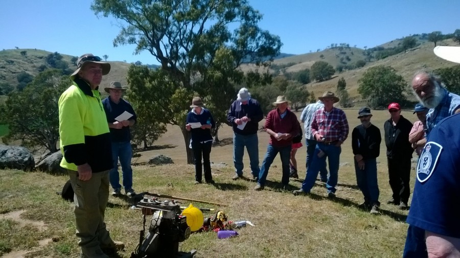 Great interest in the field day