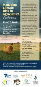 Managing Climate Risk in Agriculture Conference