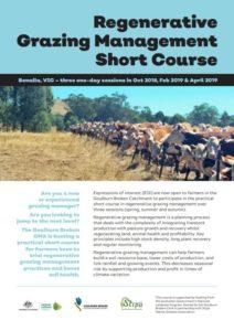Regenerative Grazing Management Short Course